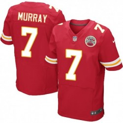 042e51f36 Aaron Murray Elite Jersey:Nike Kansas City Chiefs 7 Red Mens NFL ...